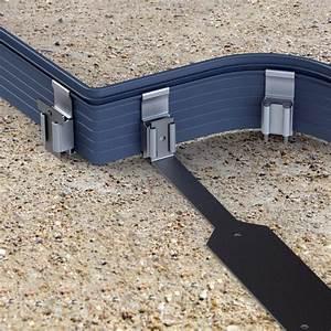Bordure Souple Jardin : fixations clipper pour bordure de jardin aluminium ~ Premium-room.com Idées de Décoration