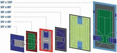 Court Sport Sizes Sportcourt Popular