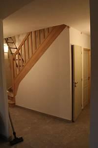 le blog de la construction de daniel et valerie les With porte d entrée alu avec sous couche sol salle de bain