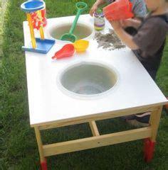 matschtisch selber bauen idee um sich selber einen matschtisch zu bauen und die kinder finden s gro 223 artig