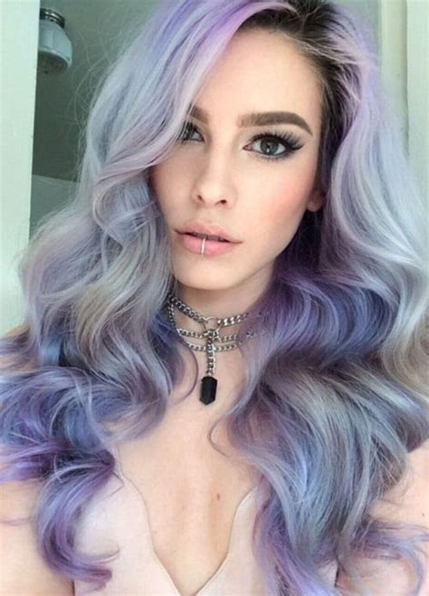 Pastel Hair Colors Ideas You Need Try in 2019 Celebrity