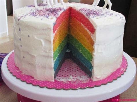 chef de cuisine en anglais rainbow cake gâteau arc en ciel recette facile les