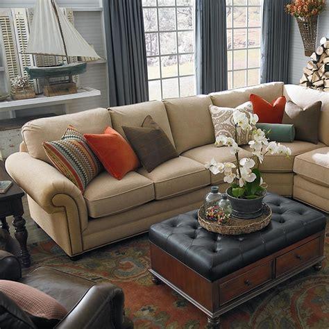 large custom sectional by bassett furniture bassett