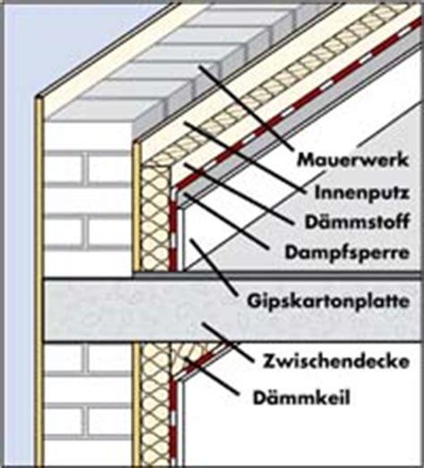 Innendaemmung Nachtraeglicher Waermeschutz by Geb 228 Uded 228 Mmung