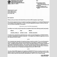 321264 Irs Individual Taxpayer Identification Number (itin) Acceptance Agent Program