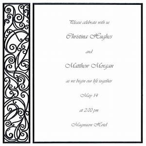 blank red wedding invitation templates lake side corrals With blank square wedding invitations