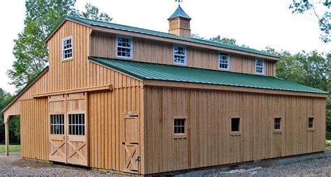 Pole Barn Styles by Outdoor Alluring Pole Barn With Living Quarters For Your