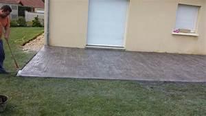 beton colore exterieur prix 4 prix b233ton imprim233 With beton colore exterieur prix