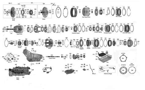 trans parts 700 4l60e transmission parts auto trans chart math diagram chart