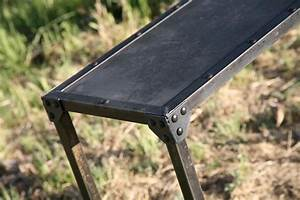 Vintage Industrial Console Table, Modern Cart - Combine 9
