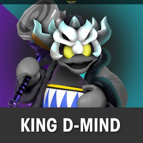 king  mind super smash bros  wii  skin mods