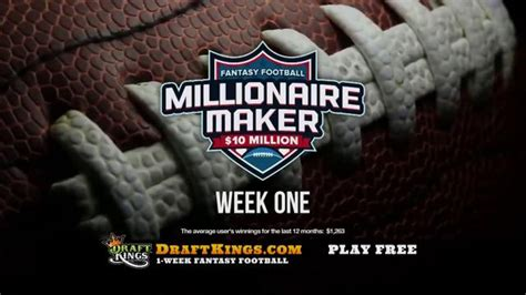 DraftKings Fantasy Football TV Commercial, 'Real People ...