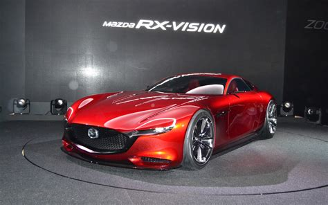 mazda rx vision concept  rotary engine