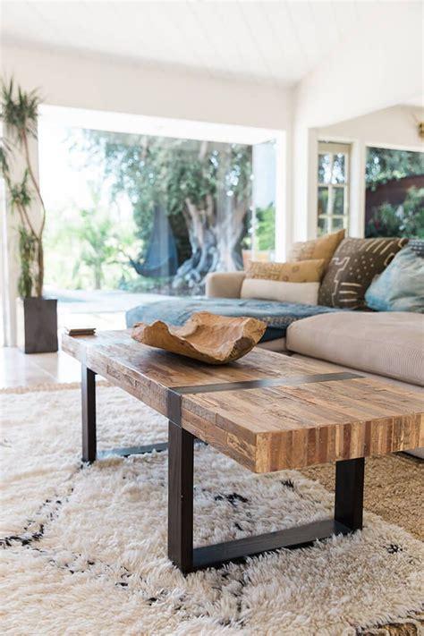 serene bohemian bungalow interiors living modern