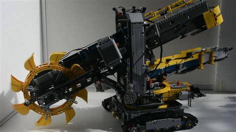 Lego Technik 42055 Schaufelradbagger Rcmodell Youtube