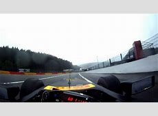 HD SPA First Time Ever EyeLevel Camera Formula 1