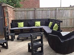 Furniture : Diy Outdoor Furniture Made From Pallet With
