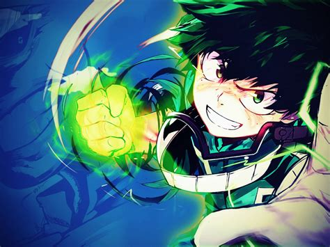 desktop wallpaper izuku midoriya boku  hero academia