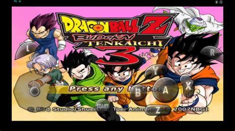 dragon ball z shin budokai 3 apk free download