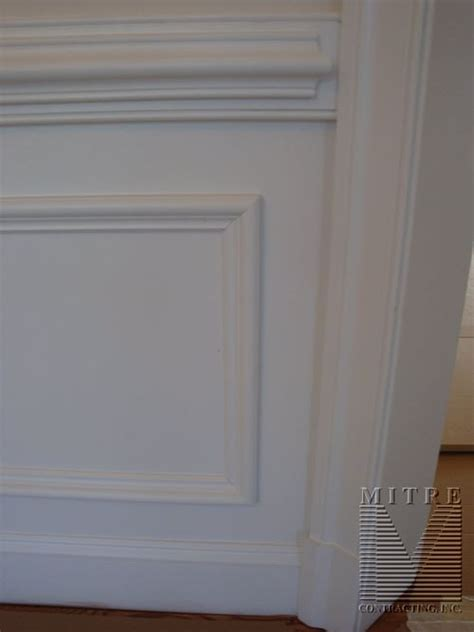 2 chair rail panel moulding shadowboxes