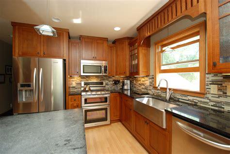 kitchen remodel classic craftsman style  chuba company