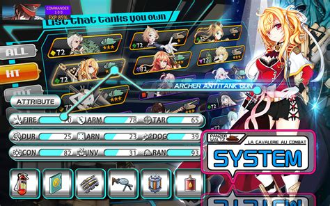 game anime android panzer waltz anime tank girls apk free role playing