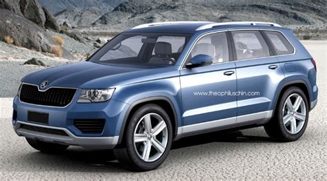 Skoda Snowman Suv Production Could Start In 2015 At