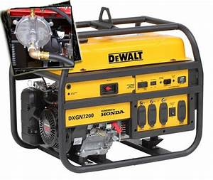 7200 Watt - 6100 Starting Watt Tri Fuel Generator With Honda Gx390 Engine