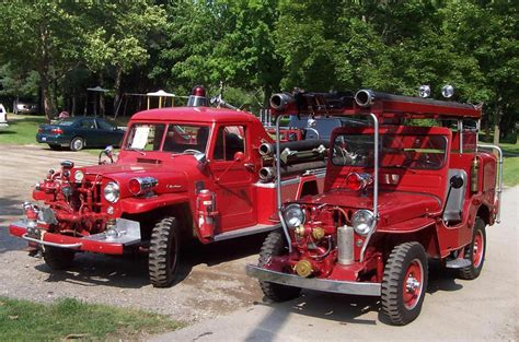 jeep fire truck for sale the cj3a page fire jeeps and trucks