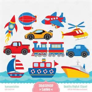 Free Transportation Clip Art