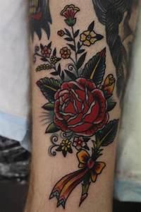 flower tattoo idea | Tumblr