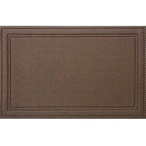 Brown Rubber Door Mat by Trafficmaster 30 In X 47 In Door Mat 60 721 5505