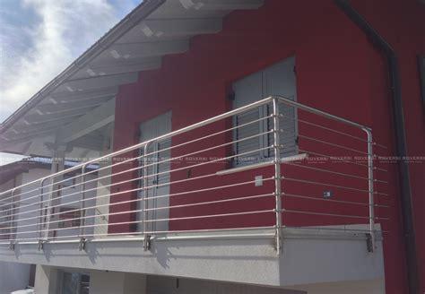 ringhiera balcone balaustre in acciaio per balconi il di roversi scale