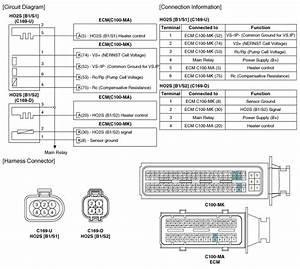 Kia Soul  Heated Oxygen Sensor  Ho2s   Schematic Diagrams