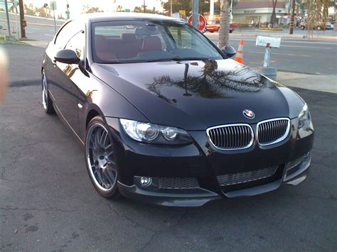 2008 Bmw 335i Coupe Jb3 1.22 1/4 Mile Drag Racing Timeslip