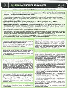 2011 2018 form ireland aps2e fill online printable With documents irish passport