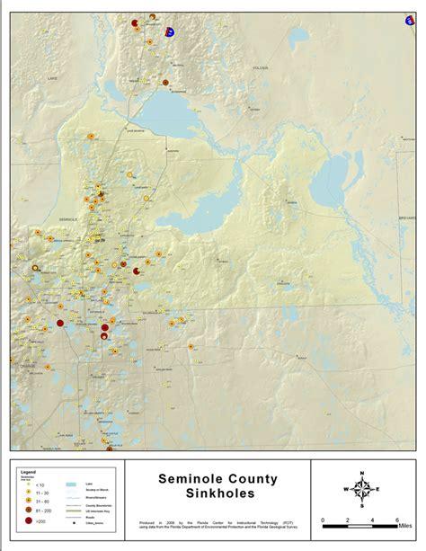 sinkholes  seminole county florida