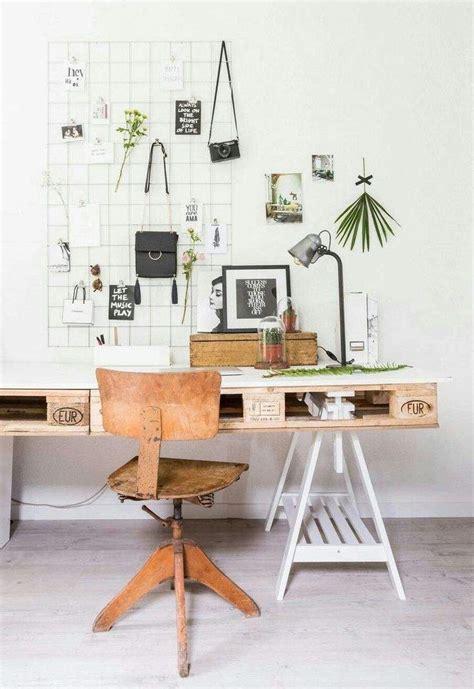 faire bureau meuble en palette 34 idées fraîches de diy déco naturelle
