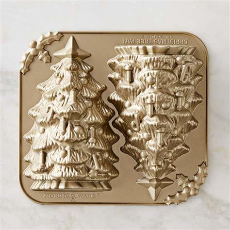 nordic ware christmas tree cake pan nordic ware tree cake pan williams sonoma