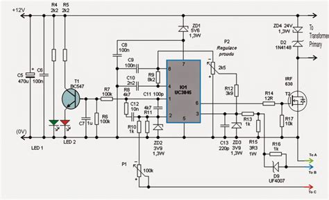 adjustable    amp smps circuit homemade circuit projects