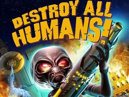 Destroy Humans Fan 2009 Wallpapersafari Games