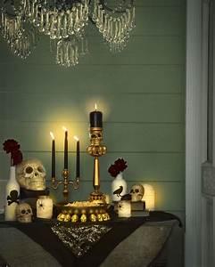 Glamorous, Halloween, Decor, Ideas