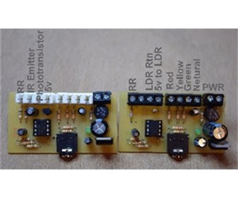 model railway automatic signal control project gallery
