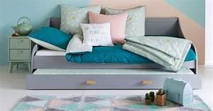 Lit Gigogne La Redoute : lit gigogne le lit gain de place tr s pratique marie claire ~ Melissatoandfro.com Idées de Décoration