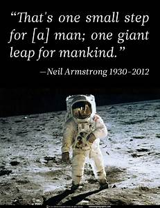 Neil Armstrong Moon Landing Quote Apollo 8 Christmas At ...