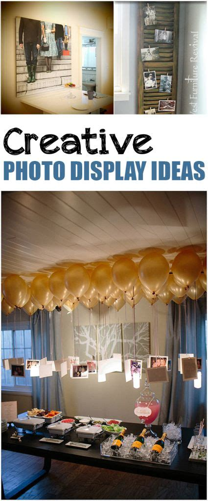 creative photo display ideas diy home decor home decor