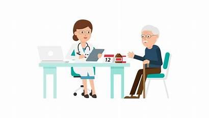 Doctor Patient Cartoon Health Doctors Svg Commons