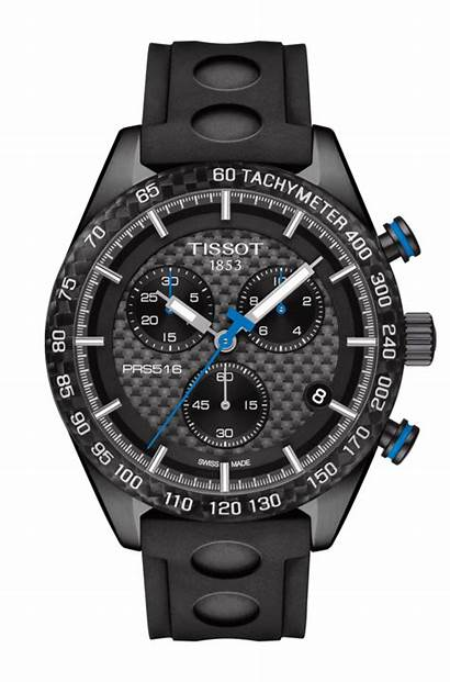 Tissot Prs 516 Chronograph Watches Number Rubber