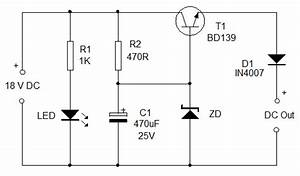 Simple Dc To Dc Converter Power Supply Circuits