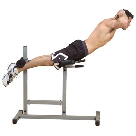 body solid powerline roman chair back hyperextension